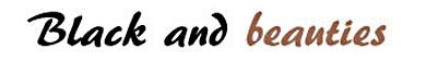 logo black and beauties