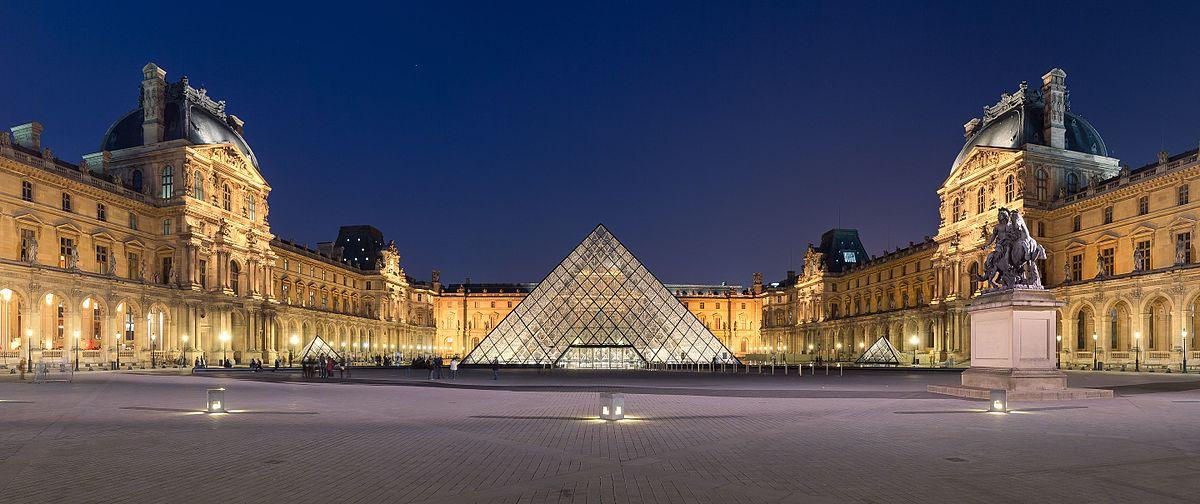 Le Louvre en France