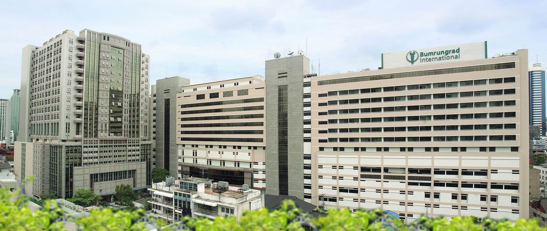 Hôpital à Bangkok