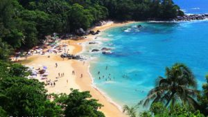 Freedom beach à Patong