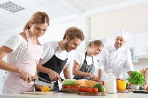 Rencontre : Les cours de cuisines